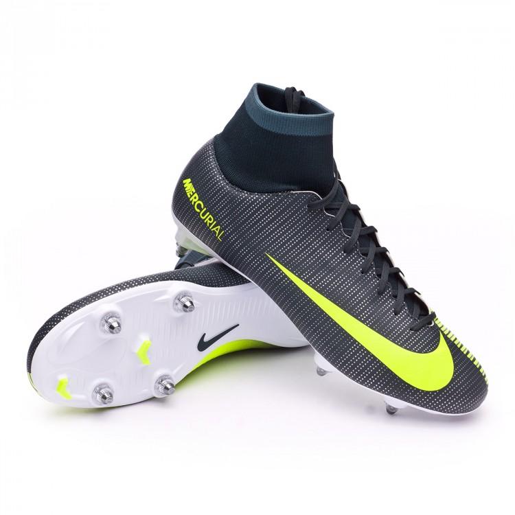 35e15d629 Football Boots Nike Mercurial Victory VI CR7 DF SG Seaweed-Volt ...