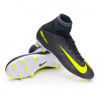 Kids Mercurial Superfly V CR7 FG Seaweed-Volt-hasta-White