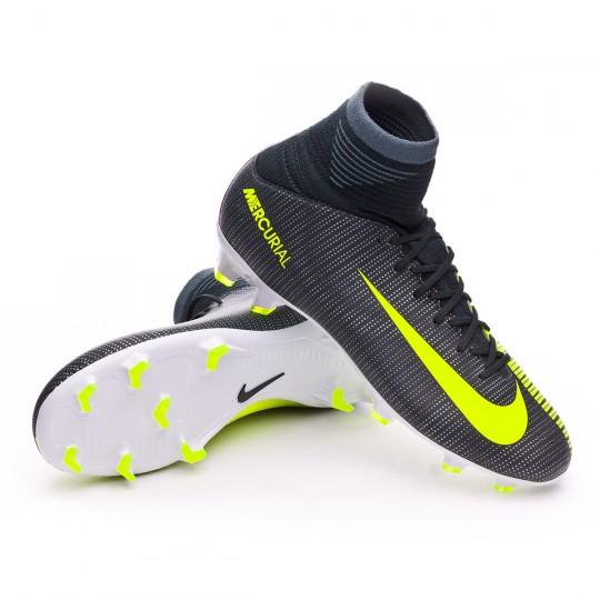 Bota  Nike jr Mercurial Superfly V ACC CR7 FG Seaweed-Volt-hasta-White