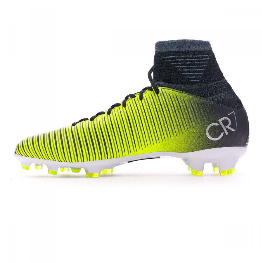 a483b5b00206 Football Boots Nike Kids Mercurial Superfly V CR7 FG  Seaweed-Volt-hasta-White - Football store Fútbol Emotion
