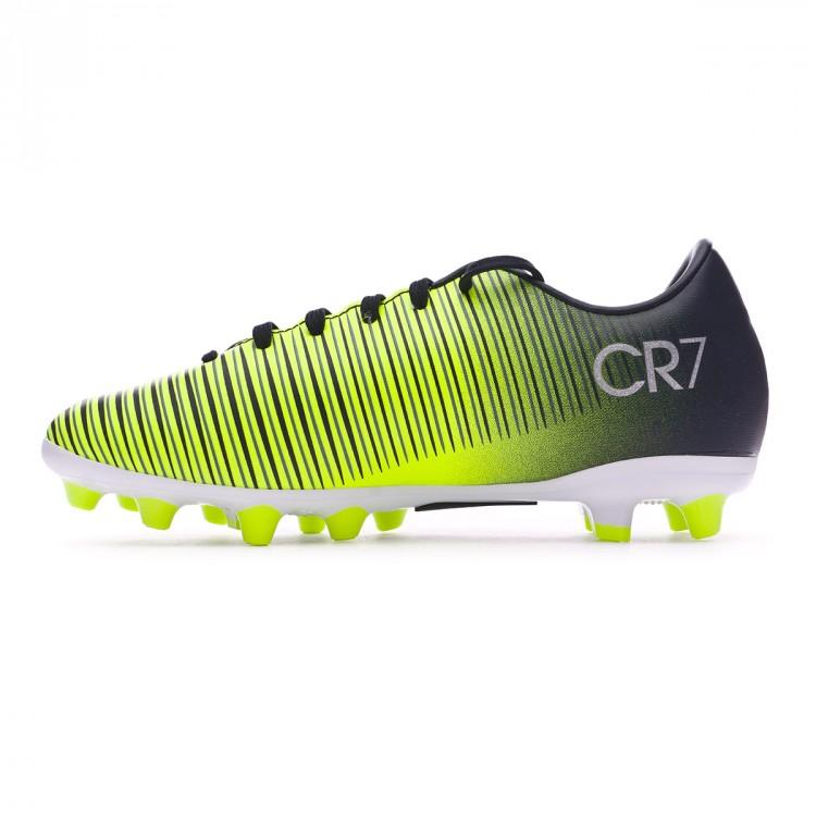 f310bbe38 Bota de fútbol Nike Mercurial Vapor XI CR7 AG Niño Seaweed-Volt ...
