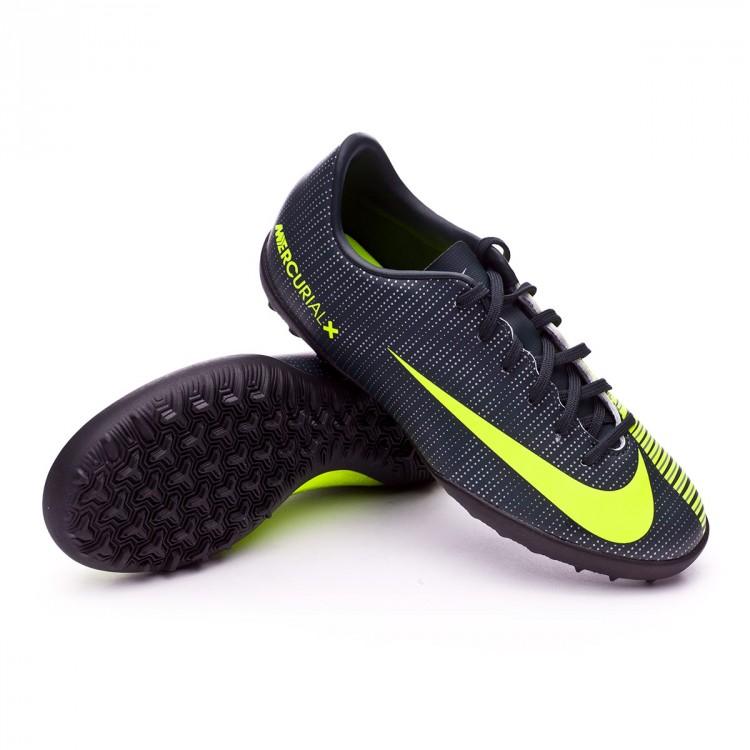 bd08f9a61 Zapatilla Nike MercurialX Vapor XI CR7 Turf Niño Seaweed-Volt-hasta ...