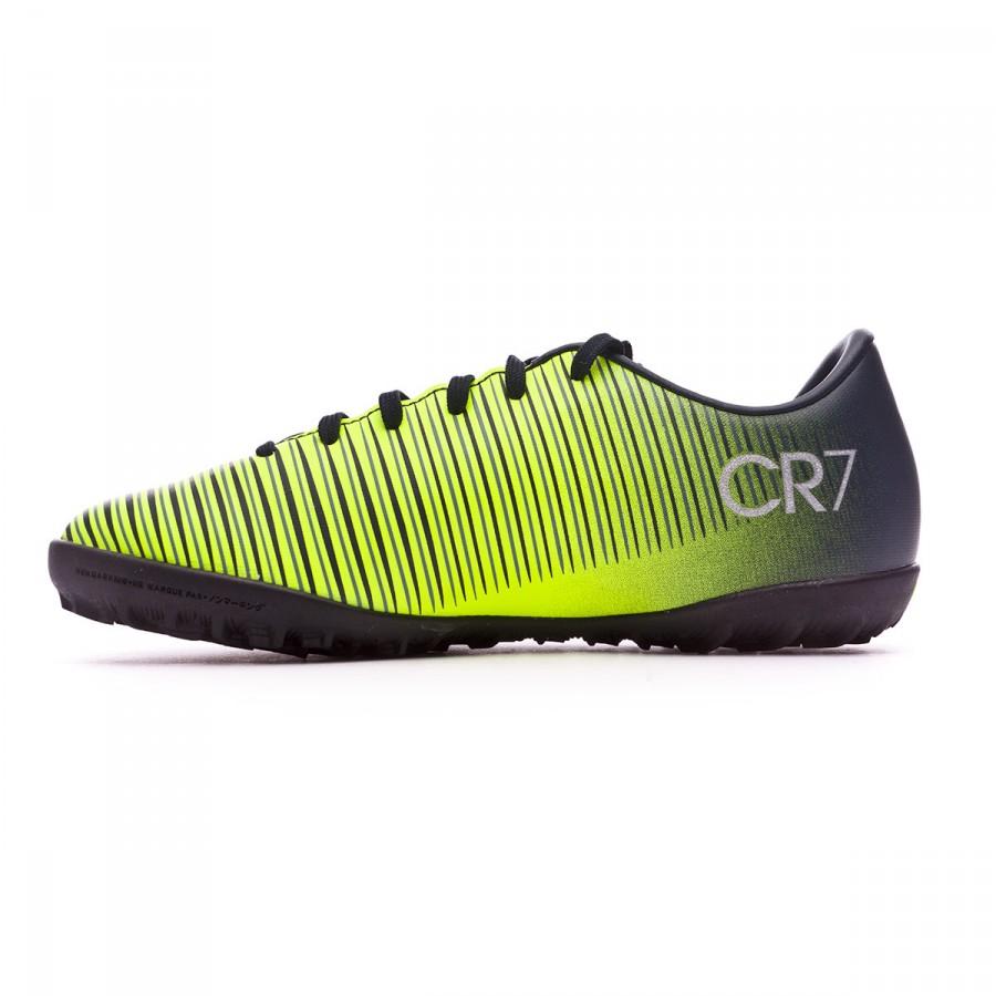 e968793ae Zapatilla Nike MercurialX Vapor XI CR7 Turf Niño Seaweed-Volt-hasta-White - Tienda  de fútbol Fútbol Emotion