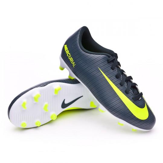 Bota  Nike jr Mercurial Vortex III CR7 FG Seaweed-Volt-hasta-White