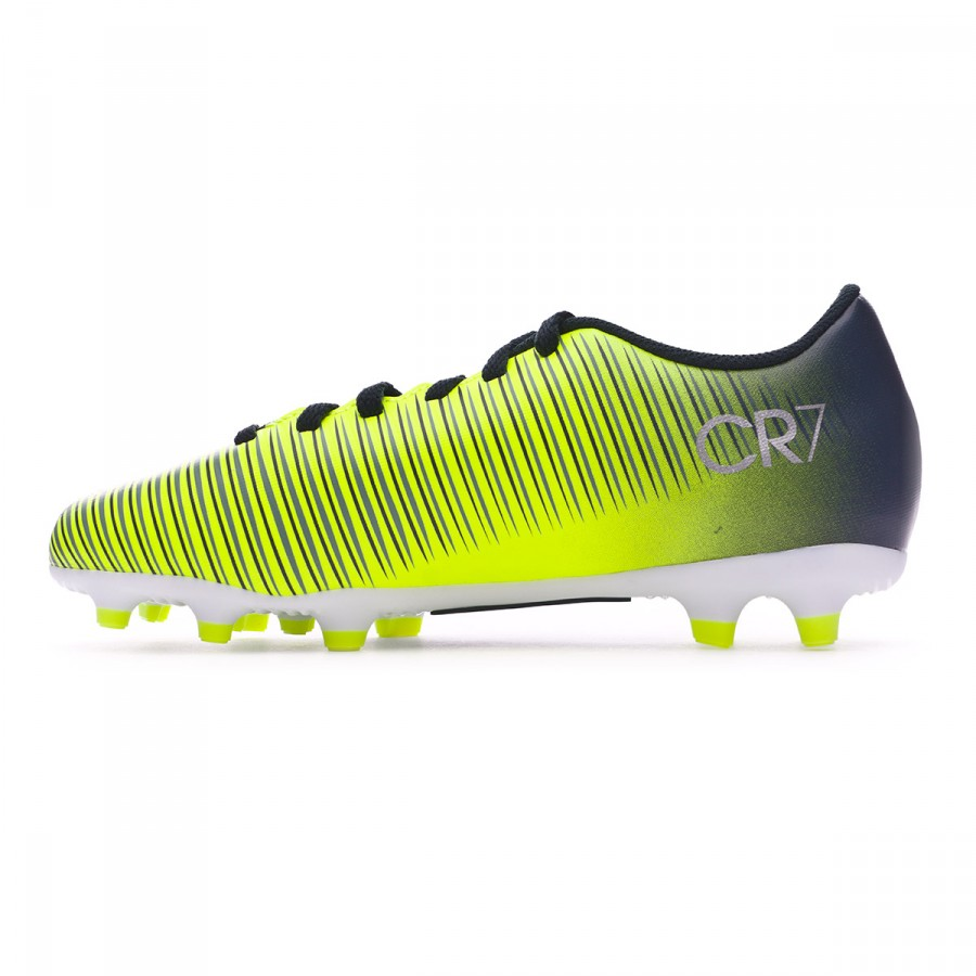 65190a373c Chuteira Nike Jr Mercurial Vortex III CR7 FG Seaweed-Volt-hasta-White -  Loja de futebol Fútbol Emotion