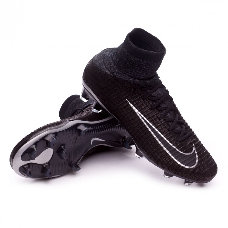Boot Nike Mercurial Superfly V ACC Tech Craft FG Black-Metallic ... 6c737e235