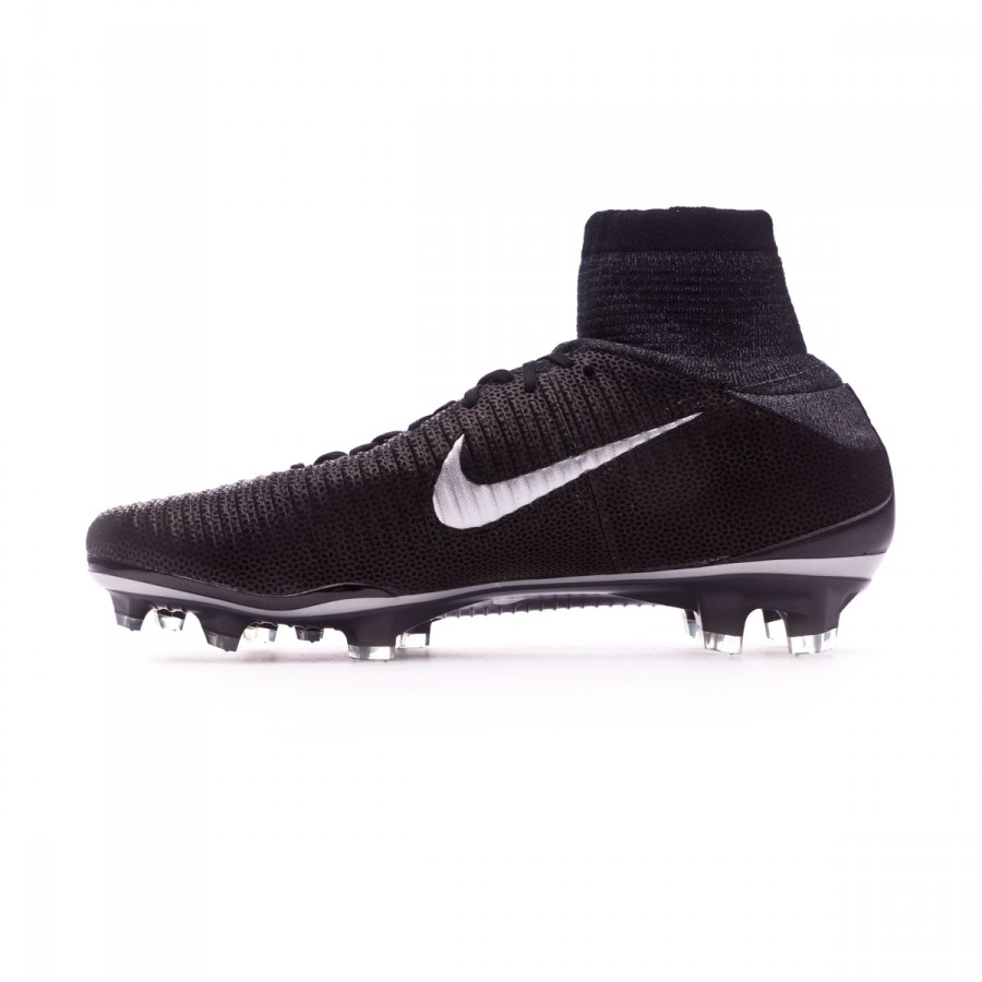 67c522001acb3 Football Boots Nike Mercurial Superfly V ACC Tech Craft FG Black-Metallic  silver - Football store Fútbol Emotion