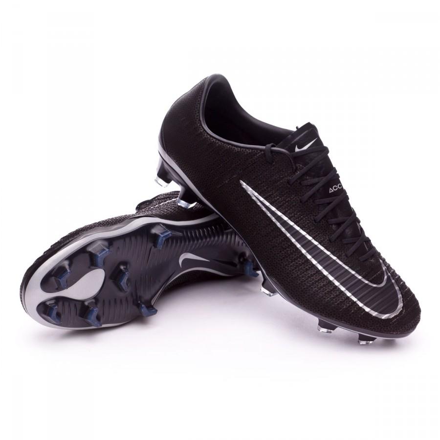 750327ad7758 Football Boots Nike Mercurial Vapor XI ACC Tech Craft FG Black ...