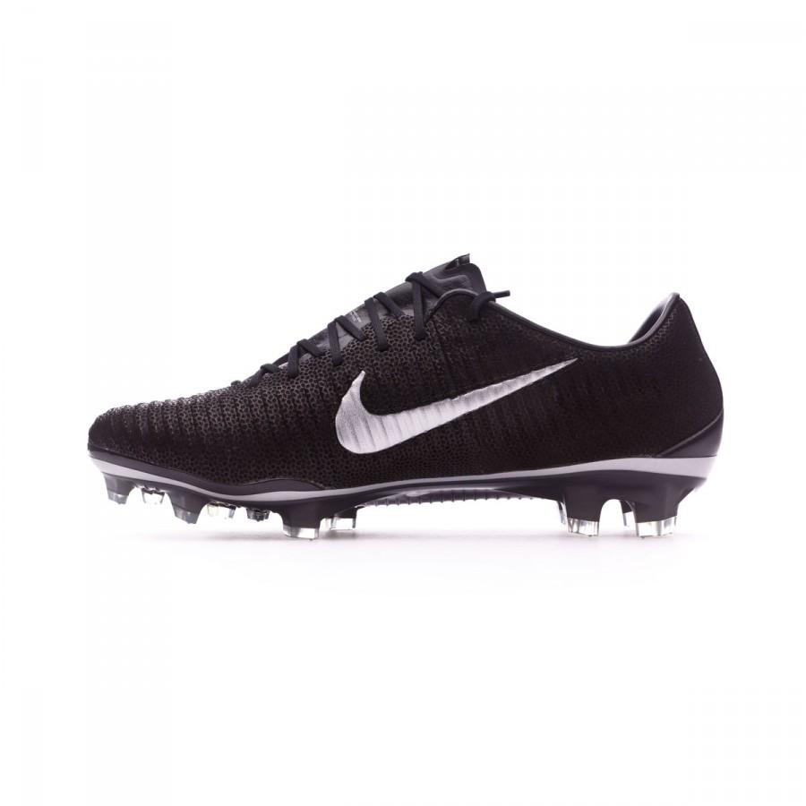 3a16aadb460c Football Boots Nike Mercurial Vapor XI ACC Tech Craft FG Black-Metallic  silver - Football store Fútbol Emotion