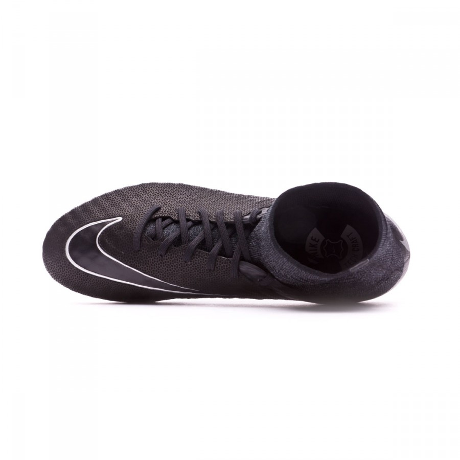 3af5bddf7b6 Chaussure de foot Nike Hypervenom Phantom II ACC Tech Craft FG  Black-Metallic silver - Boutique de football Fútbol Emotion