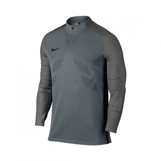 Camisola  Nike Aeroswift Strike Football Cool grey-White-Black