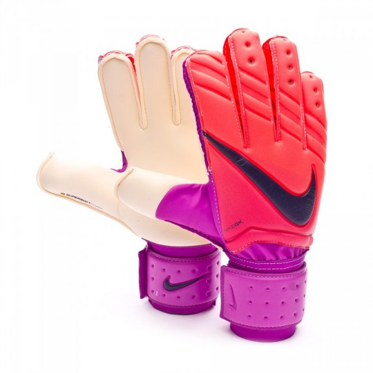 Guante  Nike Spyne Pro Total crimson-Hyper grape-Obsidian