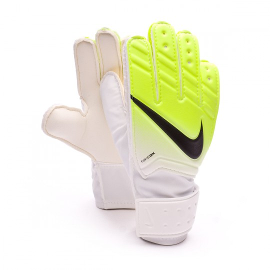Guante  Nike Match White-Volt-Black