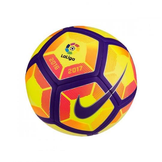 Balón  Nike Mini LaLiga Skills 2016-2017 Yellow-Purple-Black