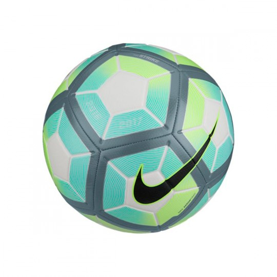 Balón  Nike Strike White-Hyper turquoise-Black