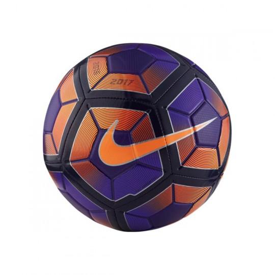 Bola de Futebol  Nike Strike Hyper grape-Black-Bright citrus