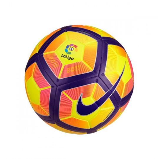 Balón  Nike LaLiga Strike 2016-2017 Yellow-Purple-Black