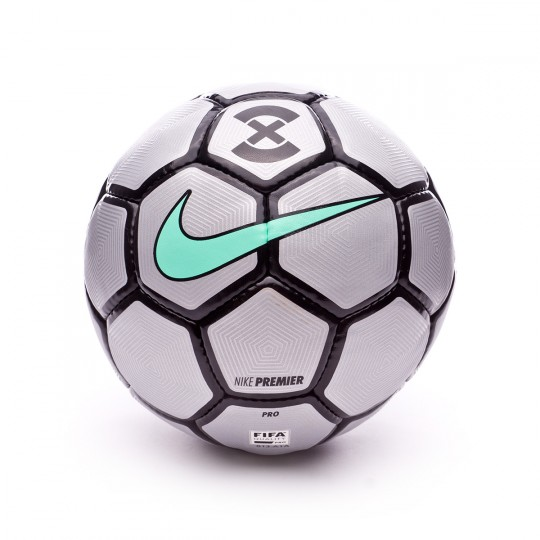 Ballon  Nike FootballX Premier Energy Reflect silver-Black-Green glow