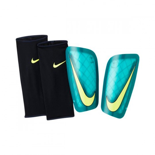 Caneleira  Nike Mercurial Lite Clear jade-Rio teal-Volt