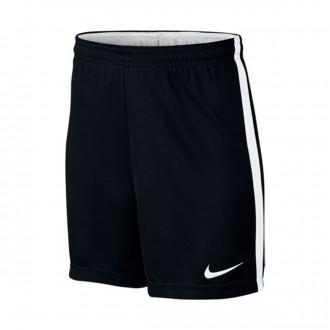 Pantalón corto  Nike Dry Football Niño Black-White