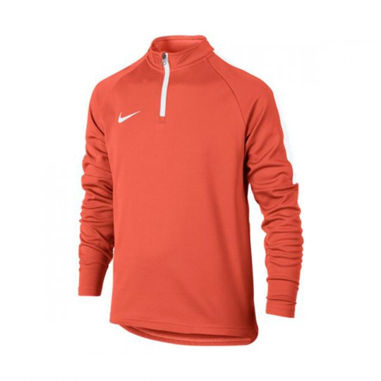 Camisola  Nike jr Football Drill Turf orange-White