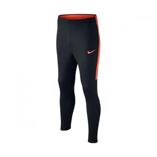 Pantalón largo  Nike jr Football Black-Turf orange