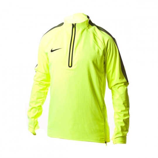 Camiseta  Nike Aerolayer Repel Strike Football Dril Volt-White-Black