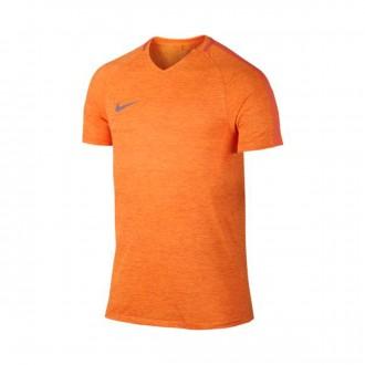 Camiseta  Nike Dry Football Turf orange-Bright citrus-Plum fog