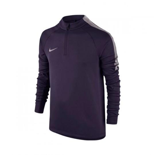 Camiseta  Nike jr Squad Football Dril Purple dynasty-Purple smoke