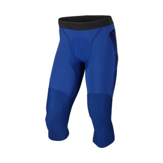 Leggings  Nike Football Capri Deep royal blue-Cool grey