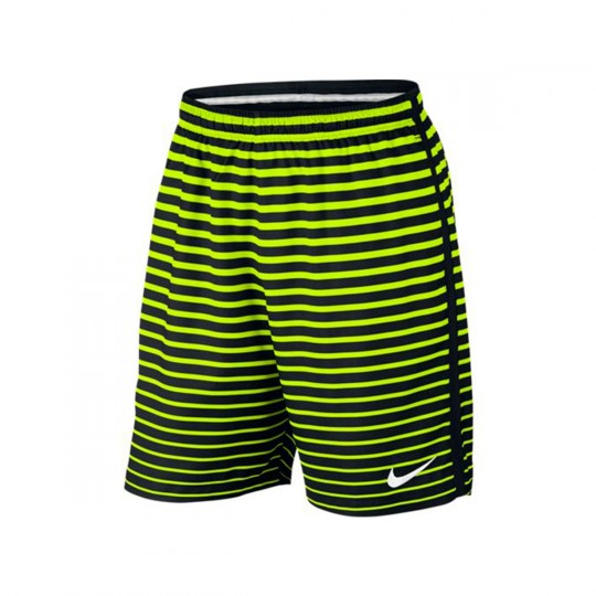 Calções  Nike Dry Football Black-Volt-White