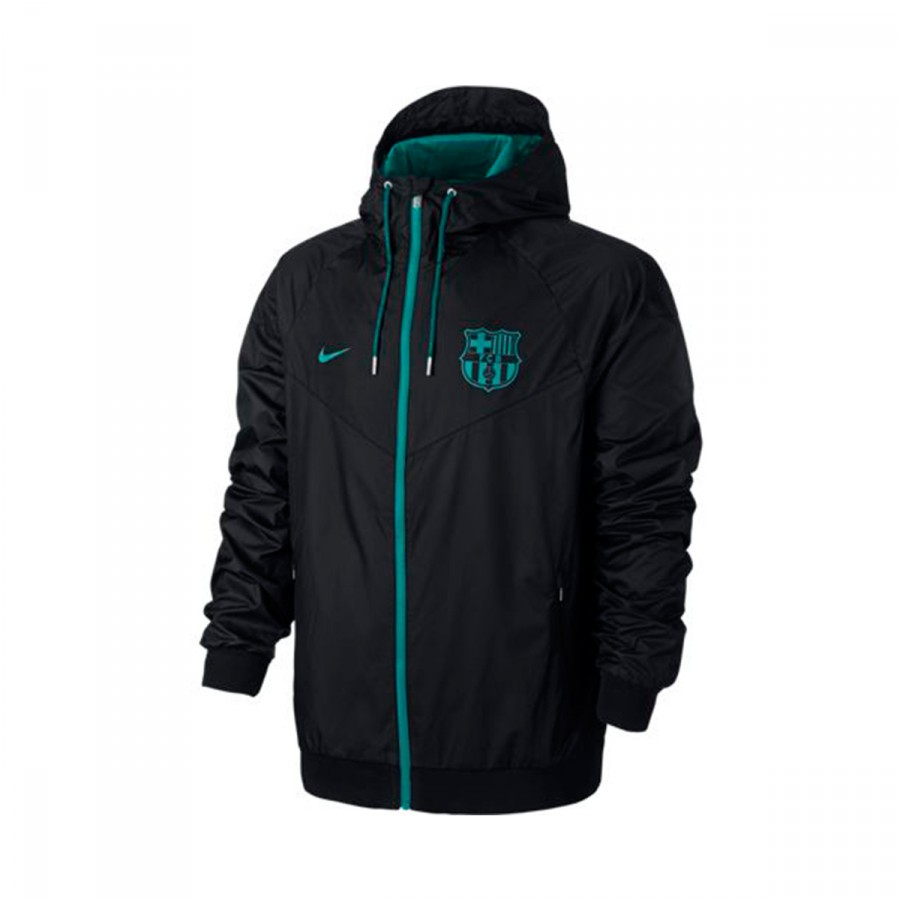 Jacket Nike Authentic Windrunner FC Barcelona 2016-2017 Black-Energy ... cc81f6daaa4