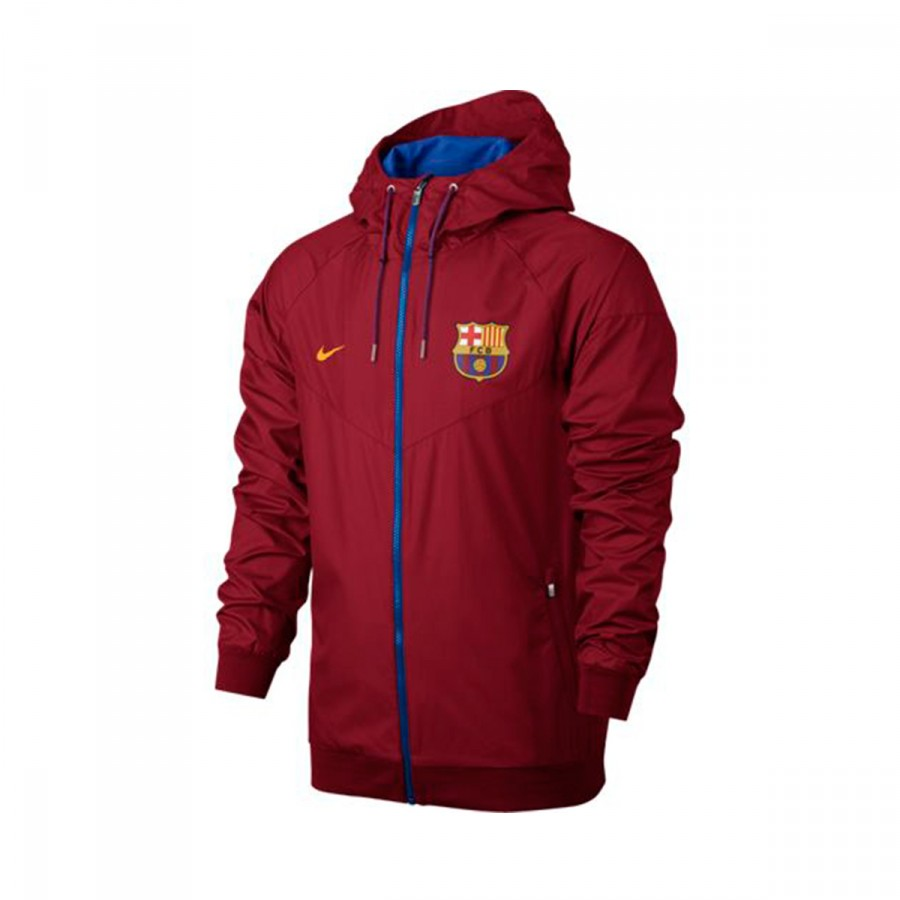 Jacket Nike FC Barcelona 2016-2017 Gym red-Sport royal-University ... 48b2da19602