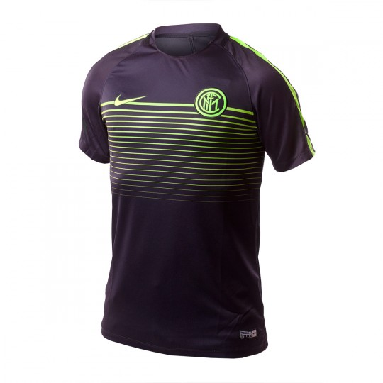 Camiseta  Nike Inter Milan 2016-2017 Black-Electric green