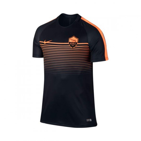 Camiseta  Nike A.S. Roma 2016-2017 Black-Peach cream