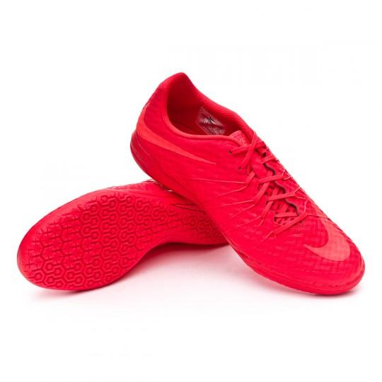Sapatilha de Futsal  Nike HyperVenomX Finale IC Bright crimson-Hyper orange-Total crimson