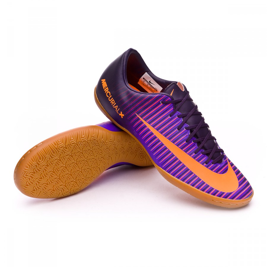 db8dea53d Futsal Boot Nike MercurialX Victory VI IC Purple dynasty-Bright ...