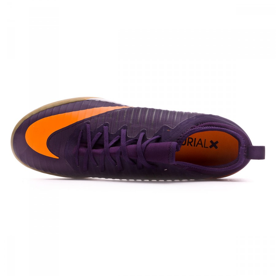 online store ec25f e33c2 Futsal Boot Nike MercurialX Finale II IC Purple dynasty-Bright citrus-Game  light brown - Football store Fútbol Emotion