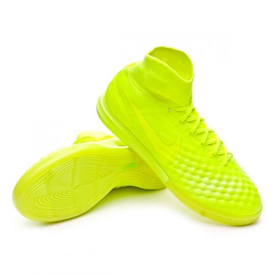 Sapatilha de Futsal  Nike MagistaX Proximo II IC Volt-Volt ice-Barely volt
