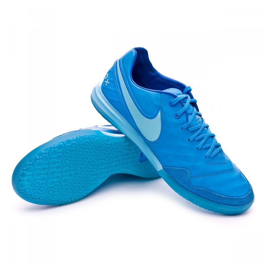 Nike TiempoX Proximo IC Futsal Boot. Blue glow-Polarized blue-Soar ... eac684899