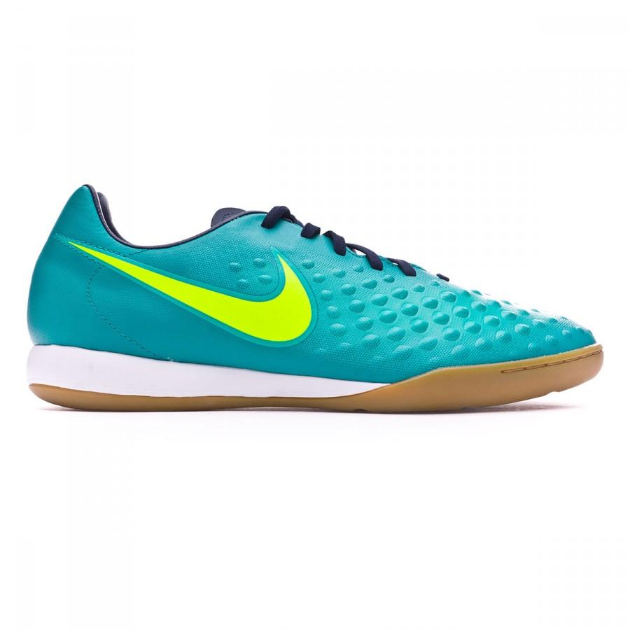 e9ab2205c9a7 Futsal Boot Nike MagistaX Onda II IC Rio teal-Volt-Obsidian-Clear jade -  Tienda de fútbol Fútbol Emotion