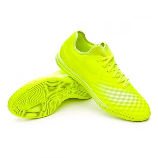 Sapatilha de Futsal  Nike MagistaX Finale II IC Volt-Volt ice-Barely volt