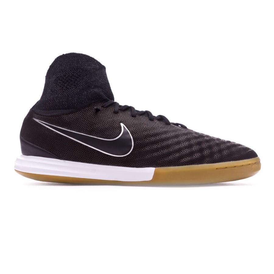 c20116c40 Futsal Boot Nike MagistaX Proximo II Tech Craft IC Black-Metallic  silver-Dark grey - Football store Fútbol Emotion