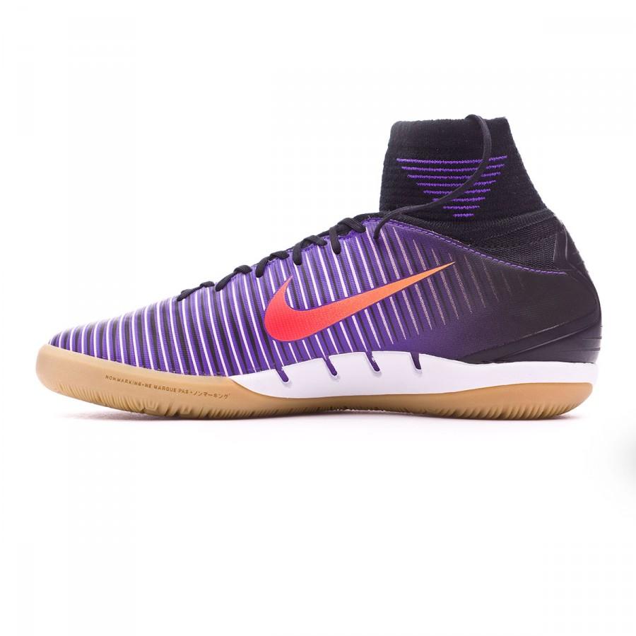 4370bdb8e3ac Futsal Boot Nike Jr MercurialX Proximo II IC Black-Total crimson-Hyper grape  - Football store Fútbol Emotion