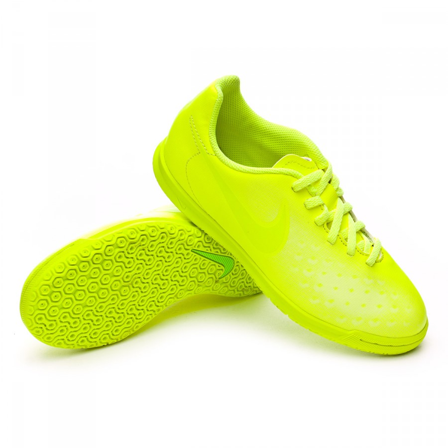 60e9241ed Futsal Boot Nike Jr MagistaX Ola II IC Volt-Barely volt-Electric ...