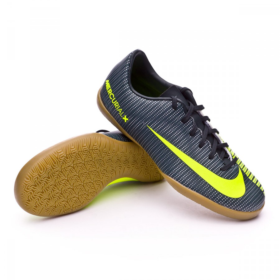 061d3cf005d Futsal Boot Nike Jr MercurialX Vapor XI CR7 IC Seaweed-Volt-Hasta ...