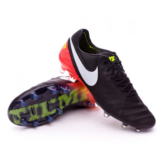 Bota  Nike Tiempo Legend VI ACC FG Black-White-Hyper orange-Volt