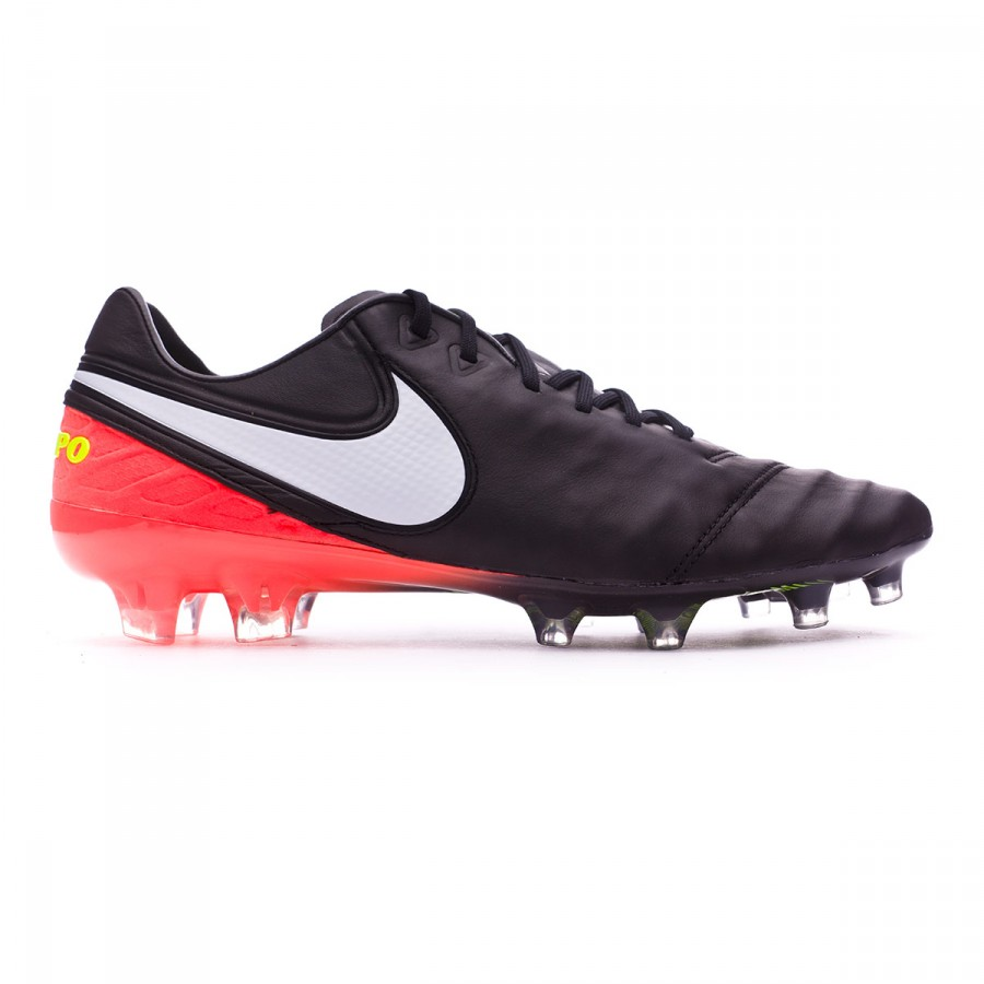 f8a7cf331 Football Boots Nike Tiempo Legend VI ACC FG Black-White-Hyper orange-Volt -  Football store Fútbol Emotion