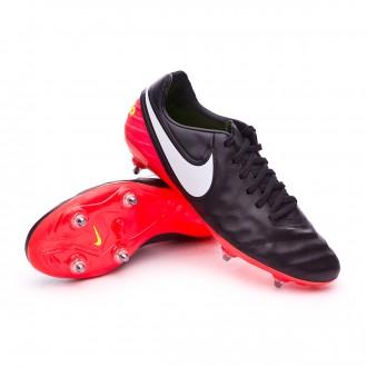 Bota  Nike Tiempo Legacy II SG Black-White-Hyper orange-Volt