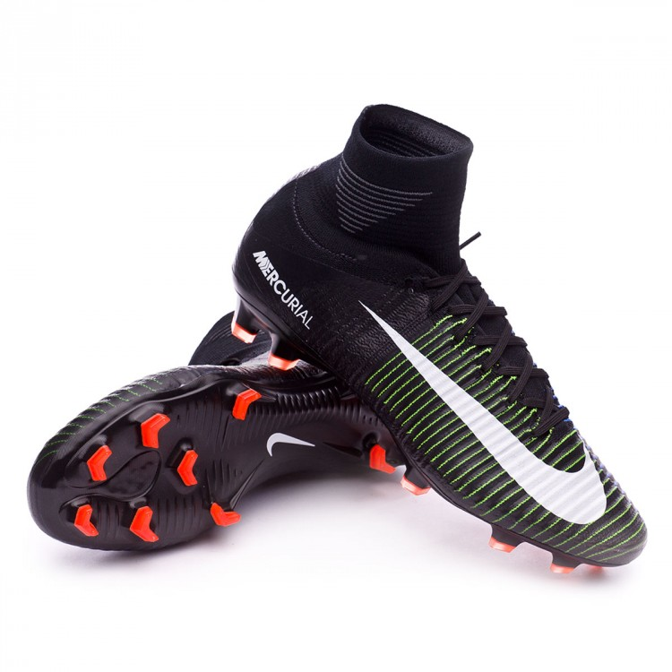 new concept 1cf4b 06811 bota-nike-mercurial-superfly-v-acc-fg-black-